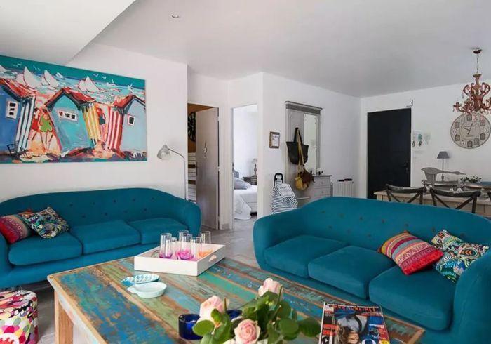 Villa esprit arty sur l'île de Ré
