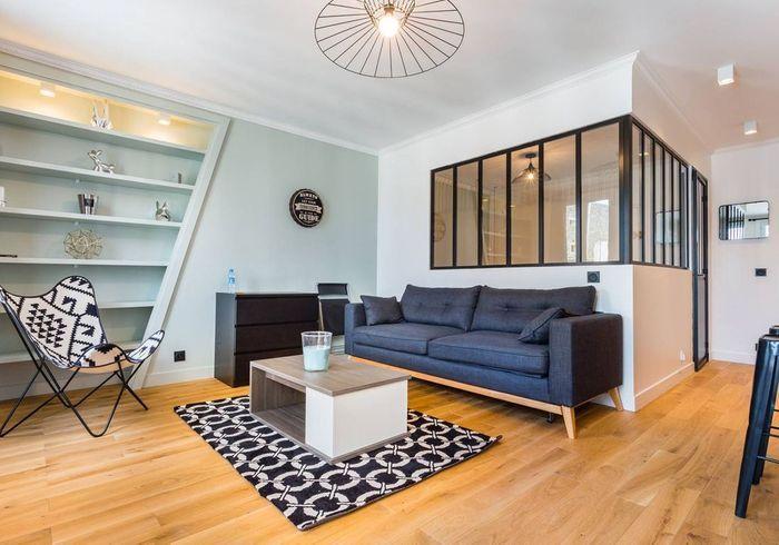 Appartement avec verrière à Paris