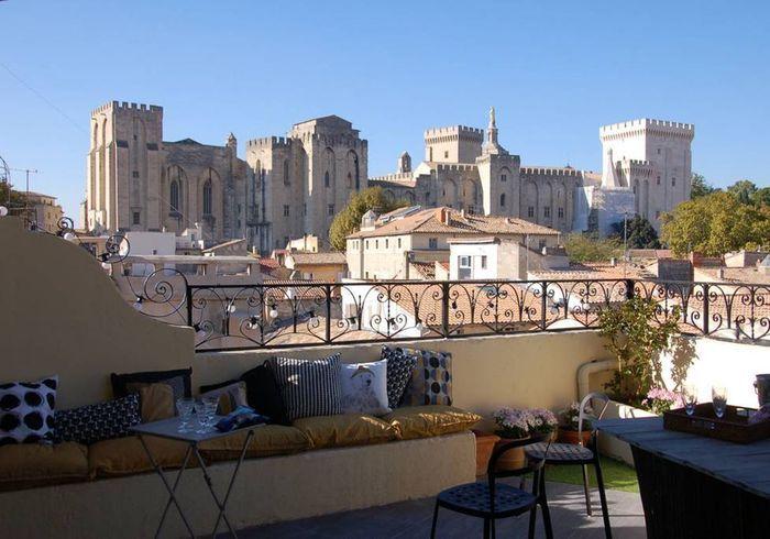 Duplex avec grande terrasse à Avignon