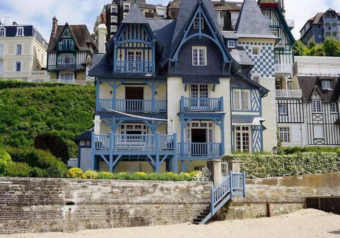 Maison sur la plage à Deauville