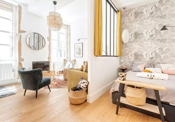 Appartement à l'esprit bohème à Lyon