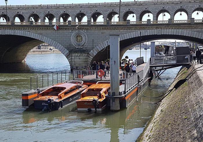 Ponton Milan privé : tous en Seine