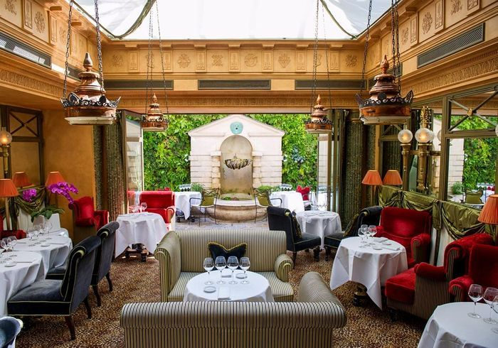 Restaurant L'Hôtel : hors du temps