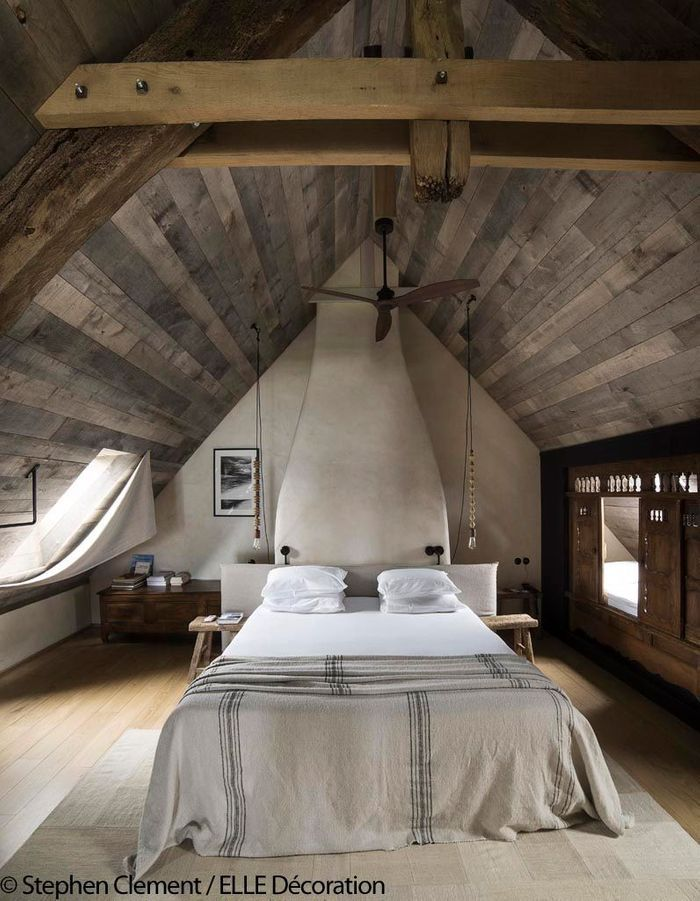 la ferme du vent un refuge de luxe pour d connecter face au mont saint michel elle d coration. Black Bedroom Furniture Sets. Home Design Ideas