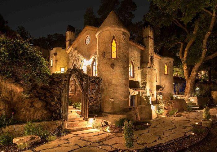 Un château tout droit sorti d'un film à Los Angeles (Etats-Unis)