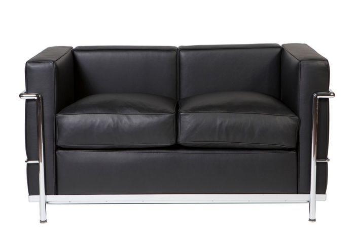 Canapé LC2 (de Le Corbusier, Jeanneret, Perriand / Cassina)