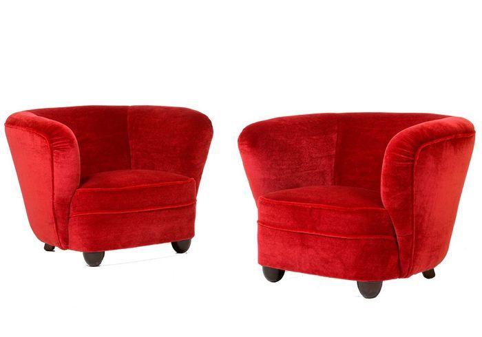 1945 : le fauteuil rebondi d'ANDREAS JEPPE IVERSEN