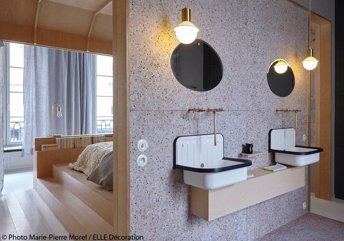 Salle de bains contemporaine