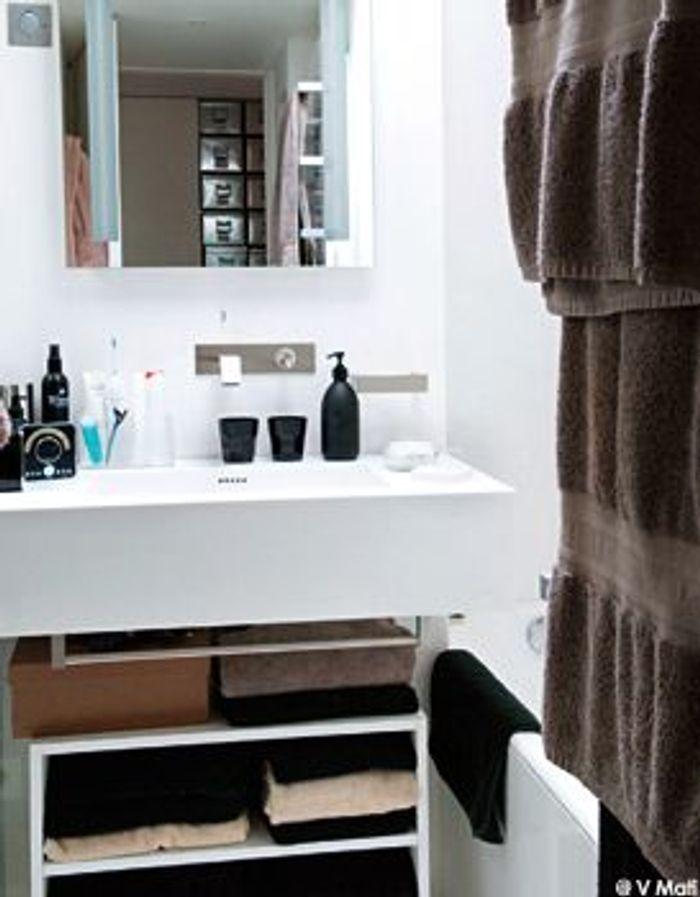 visite priv e de l 39 appartement d 39 in s de la fressange elle d coration. Black Bedroom Furniture Sets. Home Design Ideas