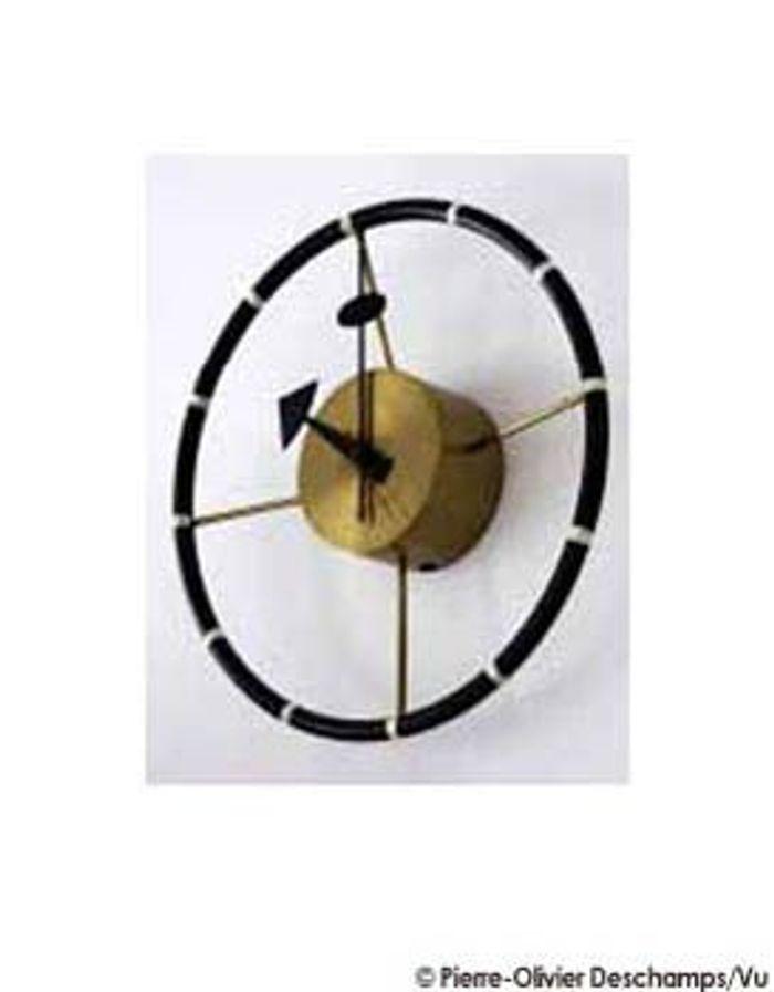 Emmanuel de bayser fan des fifties elle d coration for Horloge eames