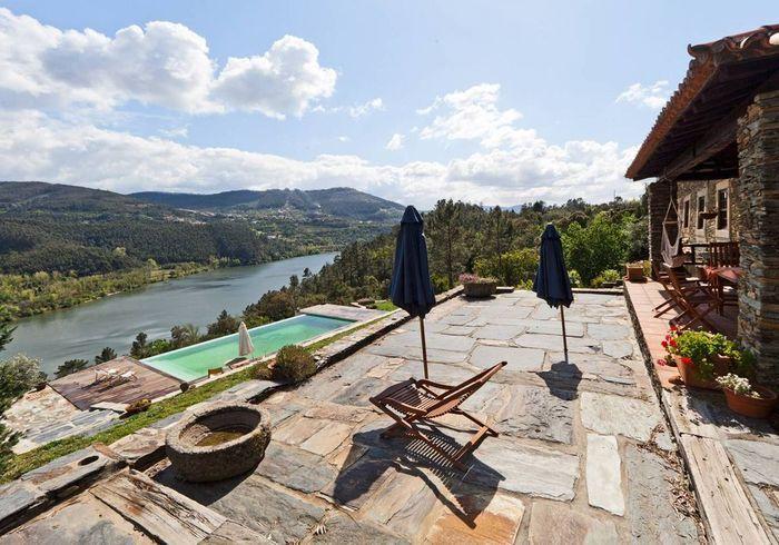 Maison de campagne avec vue au Portugal