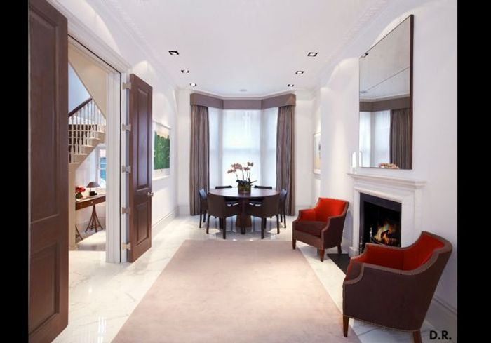 Une maison contemporaine au c ur de londres elle d coration for Idee deco hall d entree maison