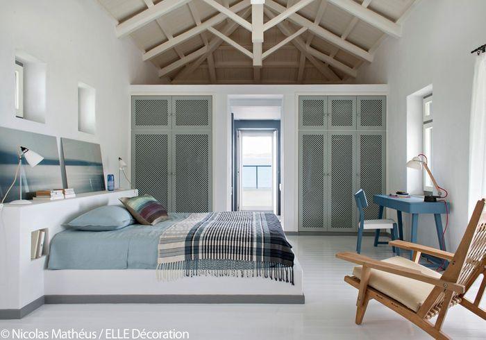 une maison grecque la vue poustouflante elle d coration. Black Bedroom Furniture Sets. Home Design Ideas