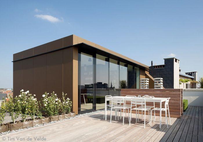 Visite d un appartement terrasse en ville elle d coration - Une terrasse en ville ...