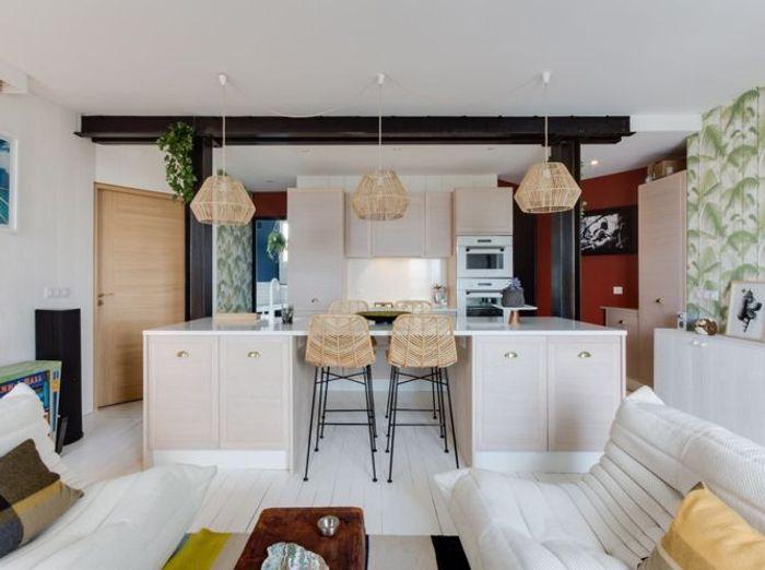 visitez une cabane de surfeur en plein paris elle d coration. Black Bedroom Furniture Sets. Home Design Ideas