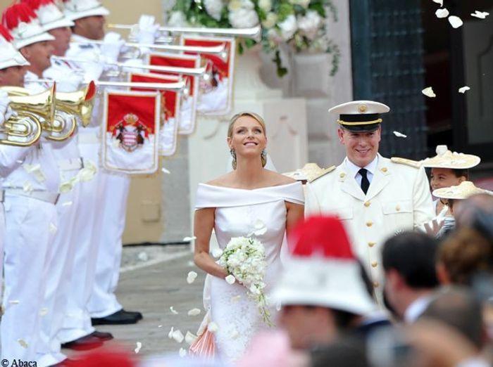 Le mariage de Charlène Wittstock et du Prince Albert