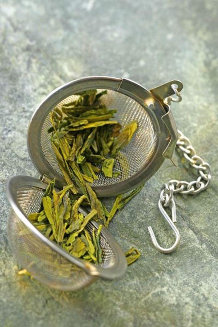 Aliment diurétique : le thé vert - Quels sont les aliments