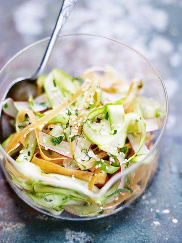 Recette minceur rapide coleslaw de l gumes printaniers - Cuisine de a a z minceur ...