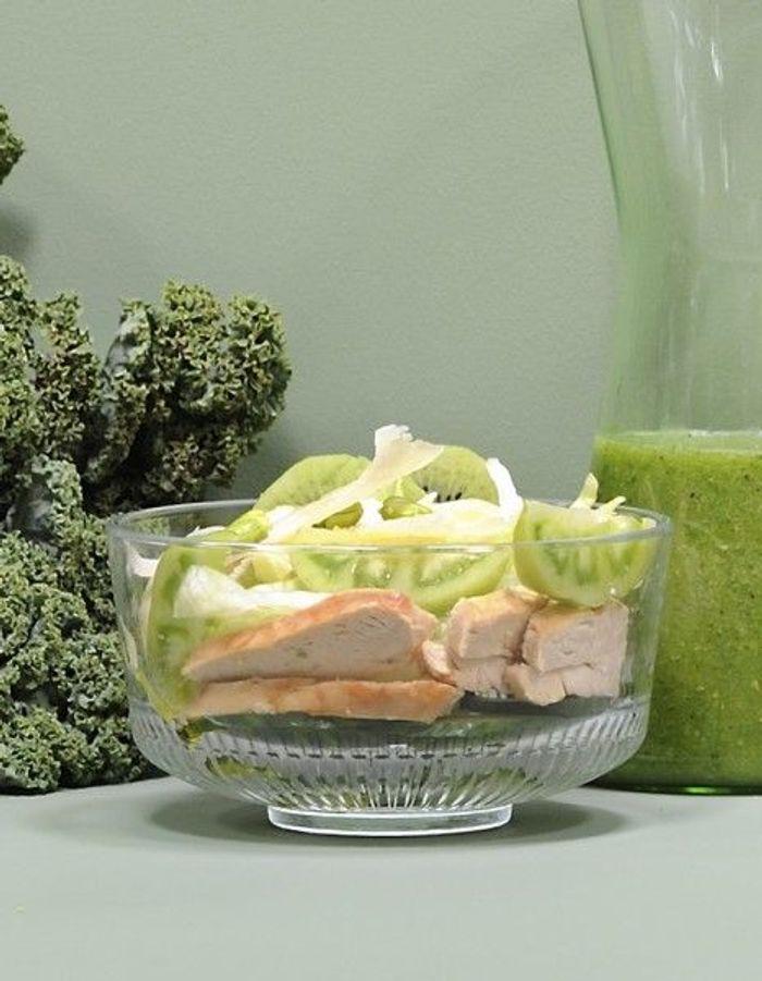 recette minceur rapide salade verte au poulet nos id es de recettes minceur ultrarapides. Black Bedroom Furniture Sets. Home Design Ideas