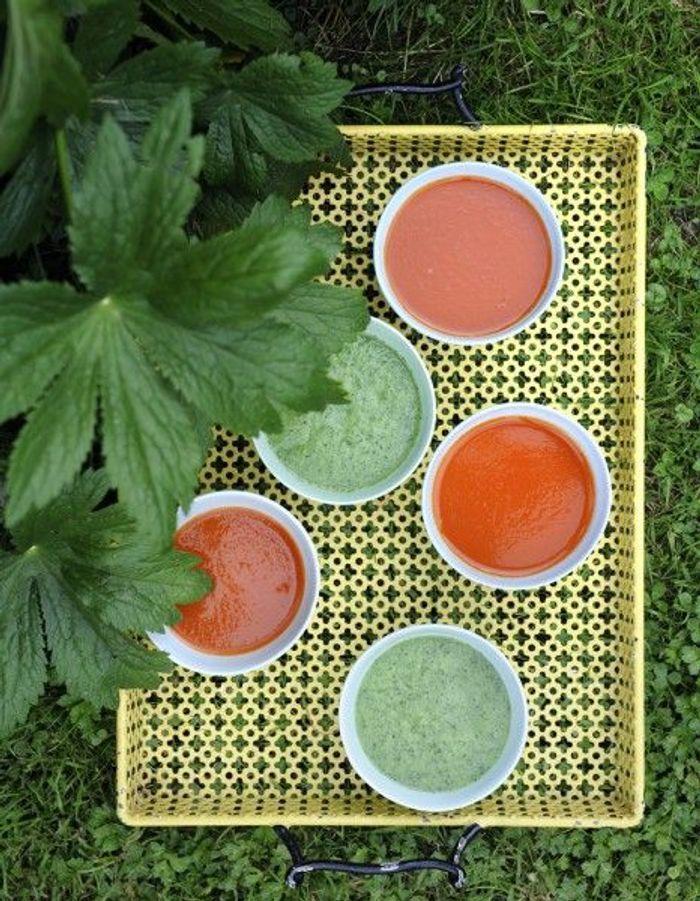 recette minceur soir soupe rouge glac e que manger le soir pour garder la ligne elle table. Black Bedroom Furniture Sets. Home Design Ideas