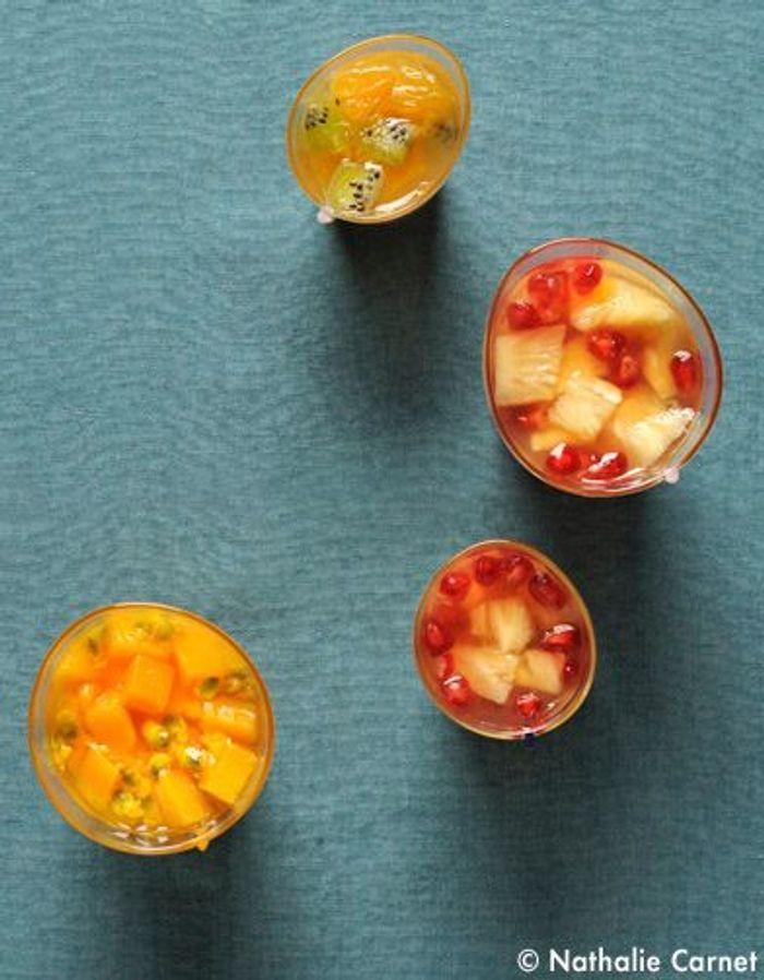 fruits en gel e d 39 agar agar 10 recettes pleine forme pour l 39 hiver elle table. Black Bedroom Furniture Sets. Home Design Ideas