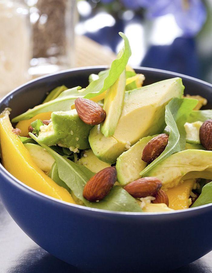 En salade 23 recettes d avocat qui ne font pas grossir - Salade a couper qui repousse ...