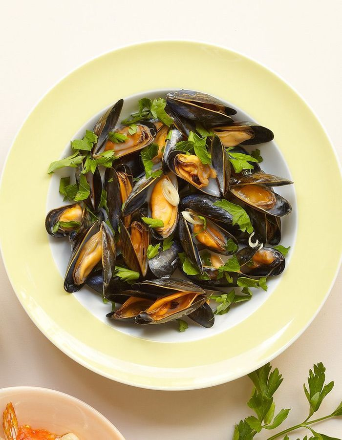 moules marini re la tha e 20 recettes gourmandes z ro. Black Bedroom Furniture Sets. Home Design Ideas