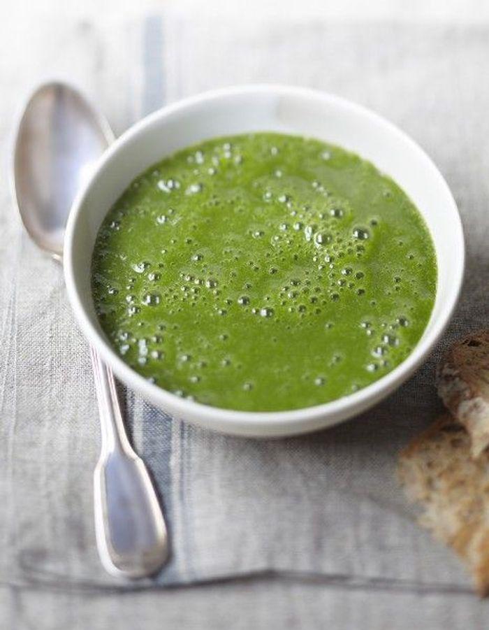Soupe de légumes : Velouté de mâche