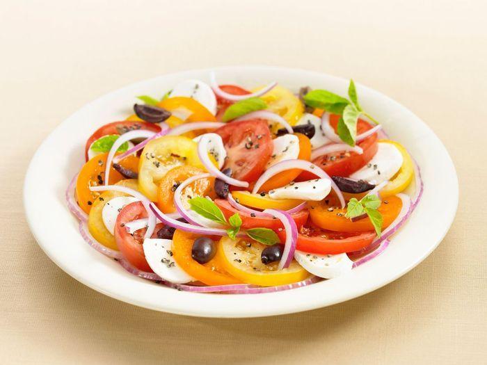 Carpaccio tomates mozzarella 30 id es pour sublimer la - Comment cuisiner le coeur de boeuf en tranche ...