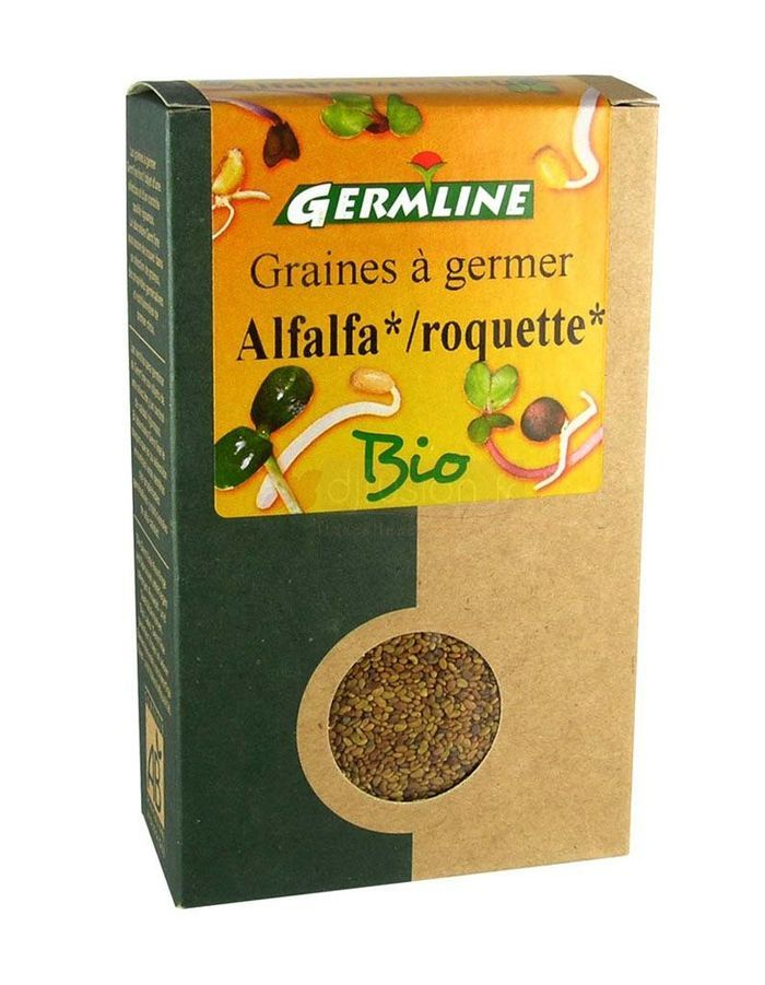 Germline alfalfa roquette graines a germer bio
