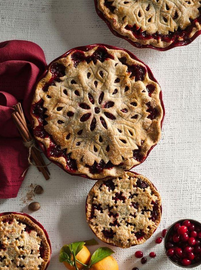 D coration de tarte flocon de neige 13 belles id es pour - Flocon de neige decoration ...