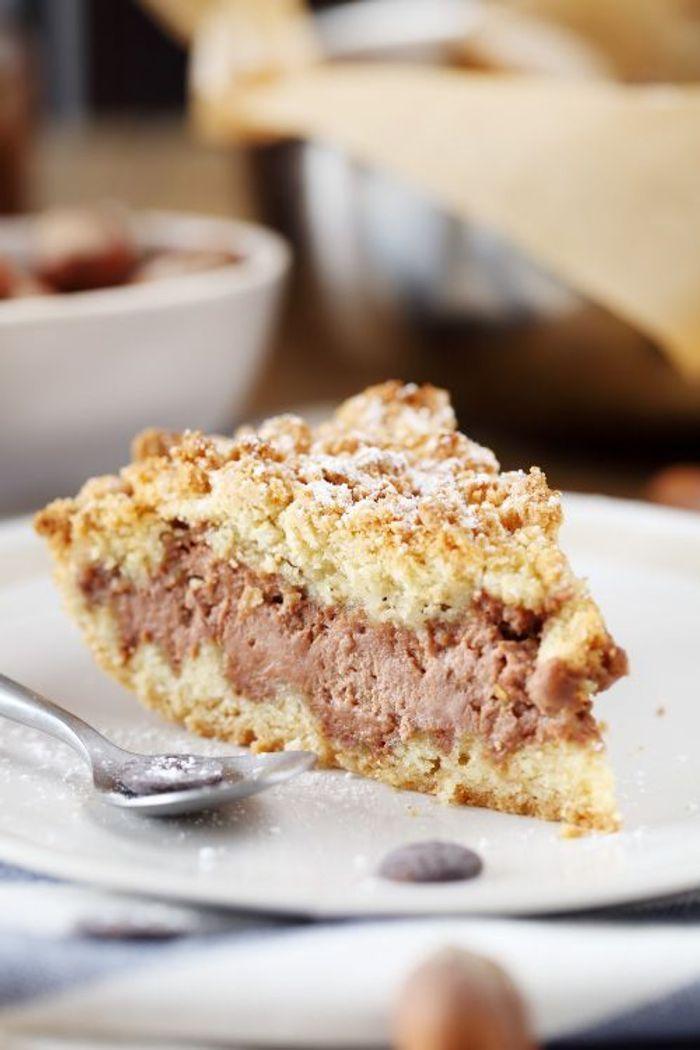 sbriciolata au nutella 10 desserts au nutella qui vont. Black Bedroom Furniture Sets. Home Design Ideas