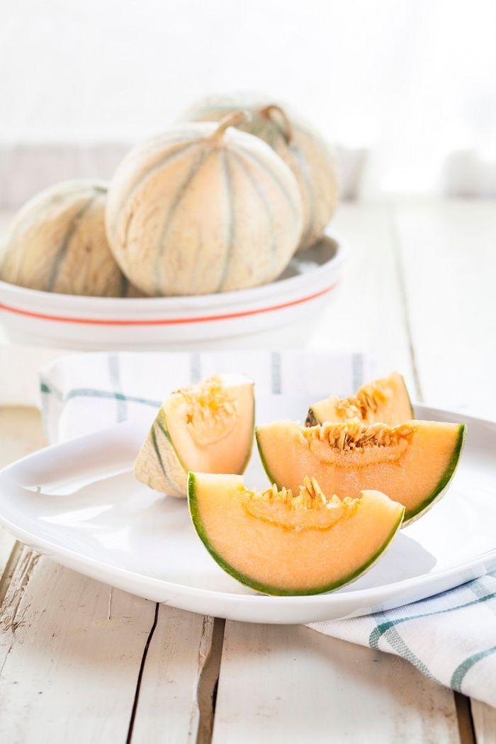 le melon quels fruits et l gumes de saison en juin elle table. Black Bedroom Furniture Sets. Home Design Ideas