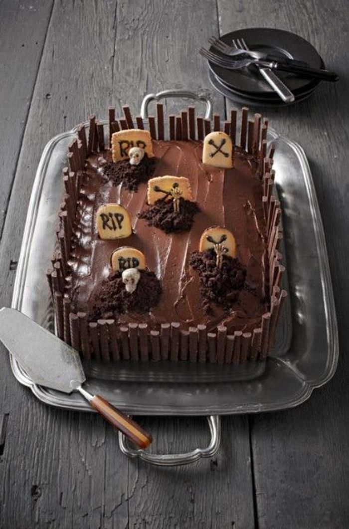 Gâteau halloween chocolat