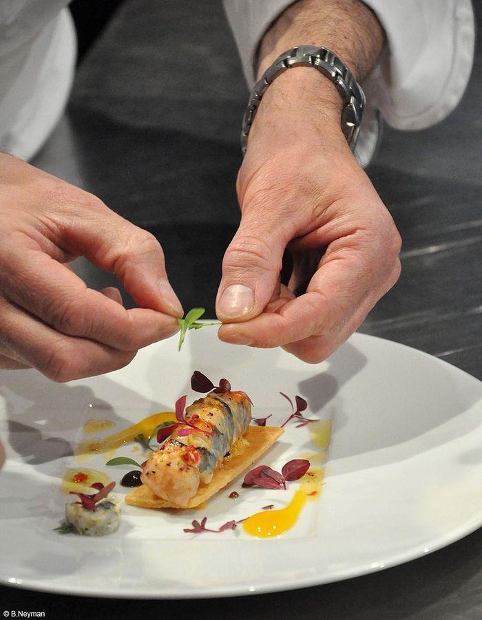 Patrick bertron et son commis la nuit de la cuisine des for Cuisine les entrees