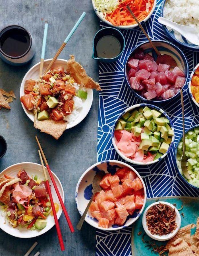 #Pokebowl, le plat hawaïen de poisson qui a tout bon