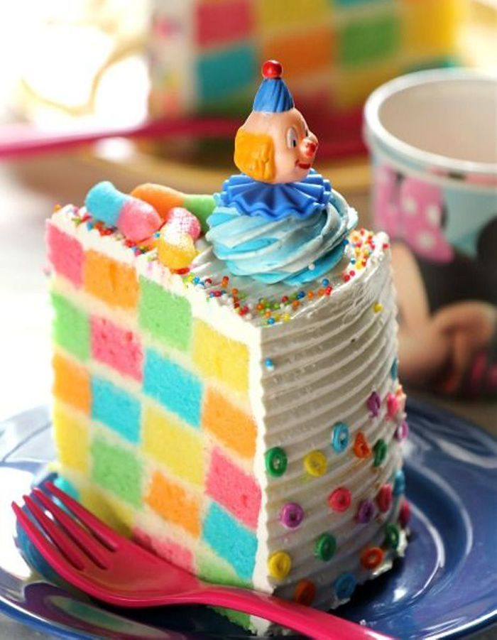 Recette Layer Cake Damier