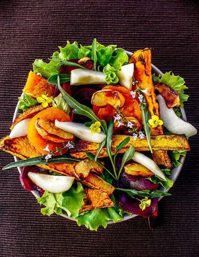 salade d automne nos meilleures id es de salades d automne pour profiter de la saison elle. Black Bedroom Furniture Sets. Home Design Ideas