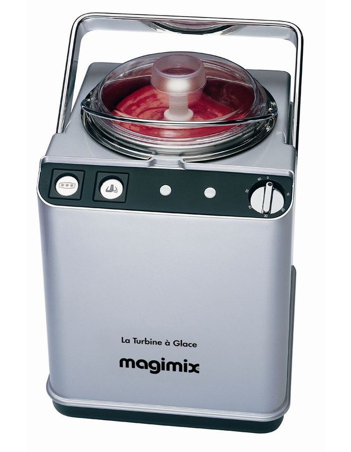 La turbine glace et la sorbeti re magimix best of les robots magiques elle table - Turbine a glace magimix ...
