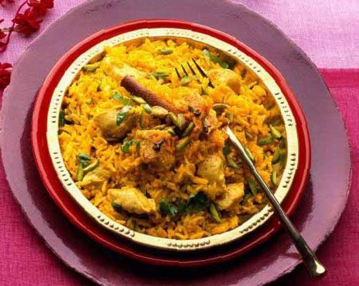 Menu l 39 indienne elle table - Cuisine indienne biryani ...