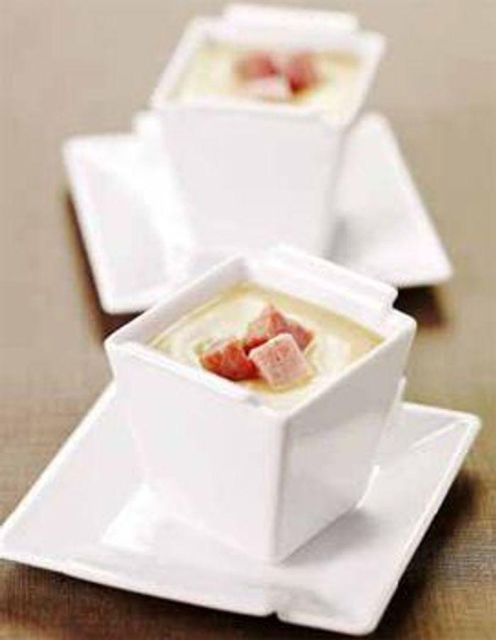 Crème aux oignons doux