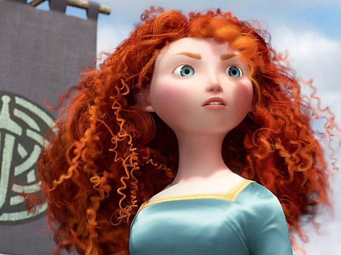 Merida dans rebelle 10 stars qui ont inspir les h ros disney elle - Image de princesse ...