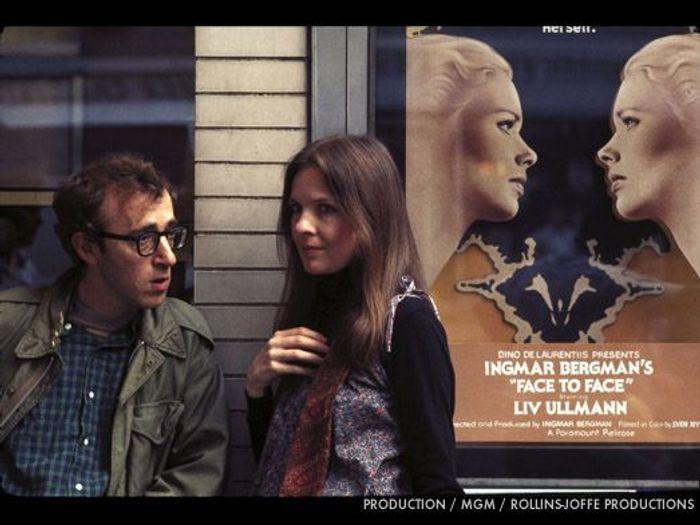 Woody Allen et Diane Keaton dans « Annie Hall »