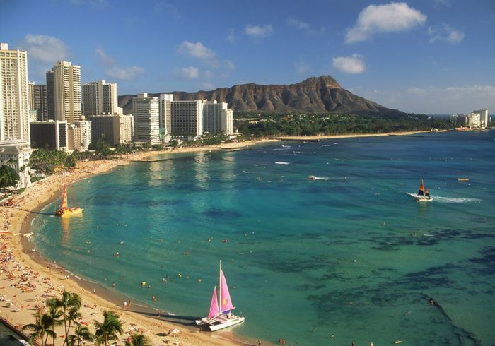 Honolulu, aux Etats-Unis