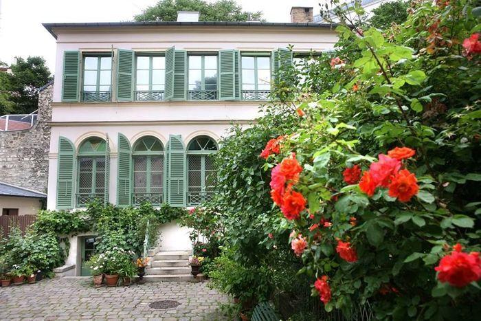 Le mus e de la vie romantique 10 lieux insolites - Musee de la vie romantique salon de the ...