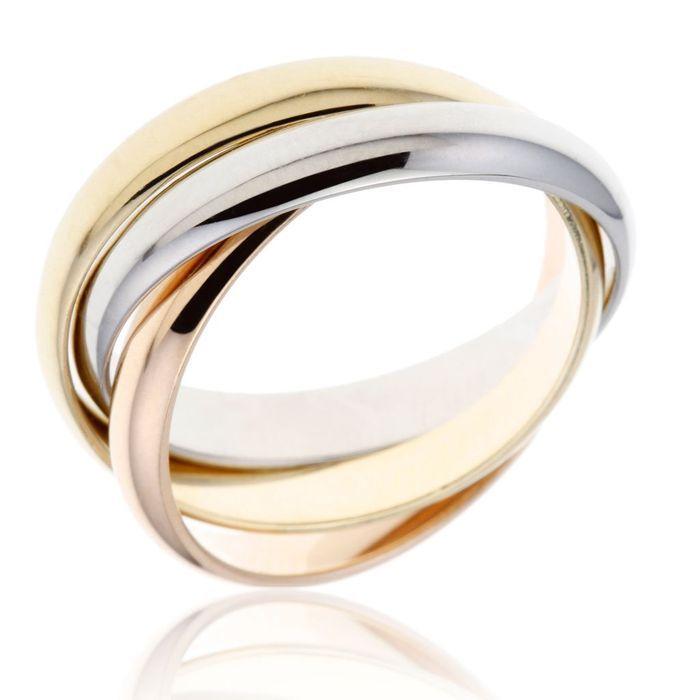 alliance originale trois ors le man ge bijoux mariage. Black Bedroom Furniture Sets. Home Design Ideas