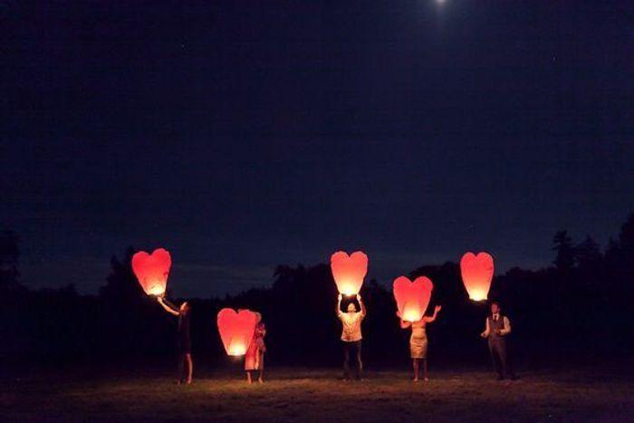 lanterne volante cur - Lanterne Volante Mariage