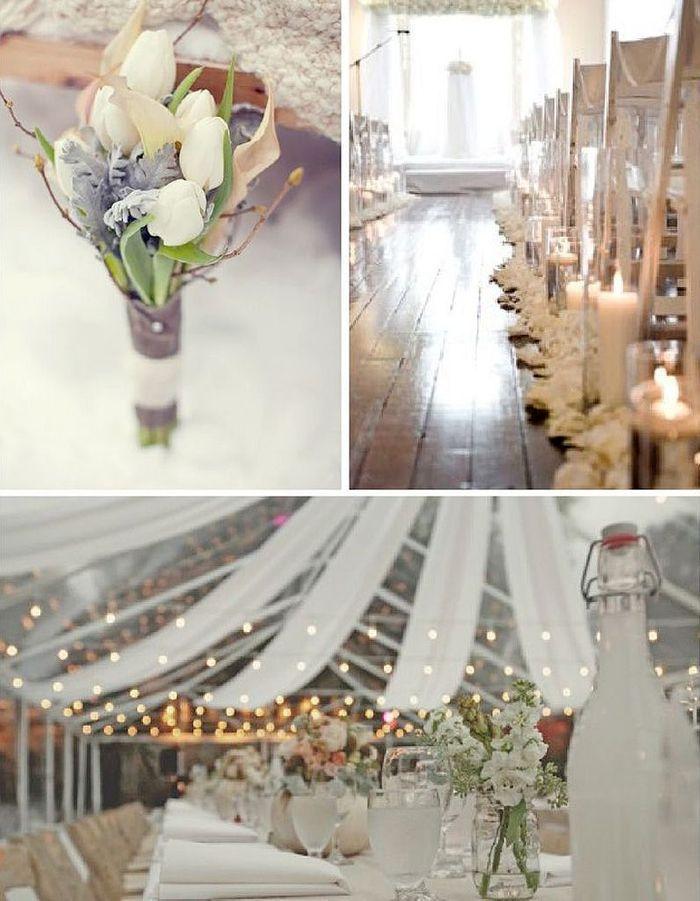 Mariage hiver d coration le mariage d hiver et si c tait la meilleure sai - Site de decoration mariage ...