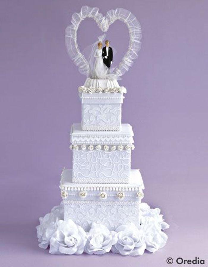 Craquez pour un wedding cake Mariage les nouvelles