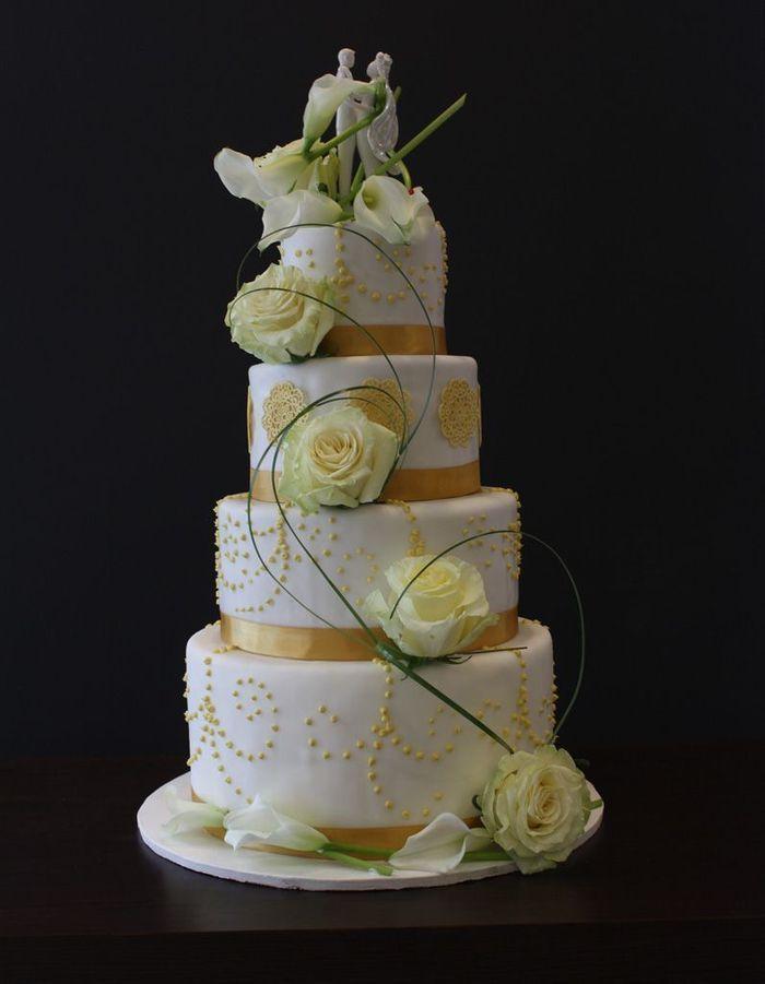 Pièce montée de mariage wedding cake Alban Guilmet - Une belle ...